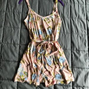 Other - Pink romper